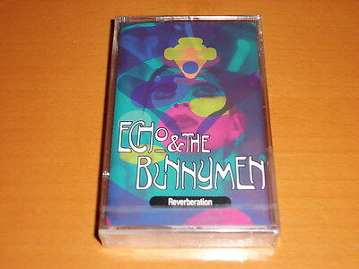 "Echo & The Bunnymen ""Reverberation"" Cassette Tape Germany Rare! New & Sealed!"