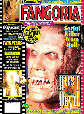 Fangoria #117 (1993, 84 pages, full colour) new condition