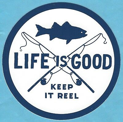 5f122aba6c1 LIFE IS GOOD Sticker Cute Family Car Window Vinyl Decal Love God ...