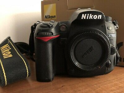 Nikon D7000 16.2MP Digital SLR Camera - Black Body - Low Shutter Count 👌🏼