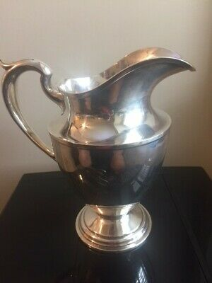 Schofield Sterling Silver Pitcher 9 1/2 Height; 24.8 ounces weight