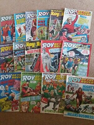 Colletion Of 15 Roy Of The Rovers Comics 1980S