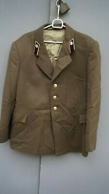 Soviet Russian Army Military Officer Parade Uniform Colonel Jacket Tunic ussr