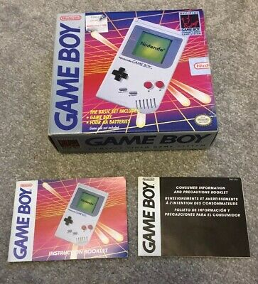 Game Boy Box Only. Original. Instruction Manual.