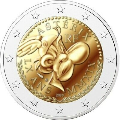 2 euro commemorative coin France 2019 - Astérix