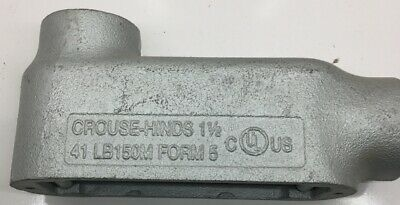 Lb150M Crouse Hinds 1-1/2-Inch Form 5 Type Lb Malleable Iron Conduit Outlet Body