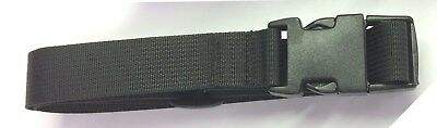 4 feet Long Lashing Strap 2 straps Cargo Lash Strap Camping with 1½ SR Buckle