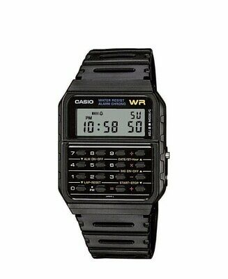 NEW Casio Digital LCD Watch with Calculator, Stopwatch, Alarm, etc Model CA53W-1