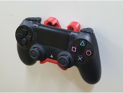 Anclaje soporte para mando de PS4 playstation pared o armario diferentes colores