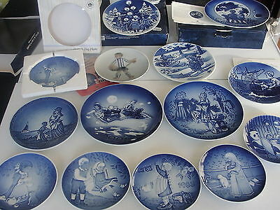 Bing Grondahl Copenhagen Or Royal Copenhagen Children Plate