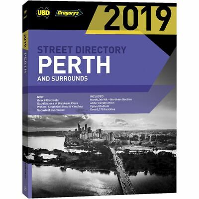 UBD 2019 Perth Street Directory 61st Edition