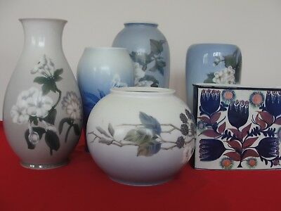 Royal Copenhagen Or Bing Grondahl Big Size Vase Please Choose