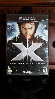 X-Men: The Official Game (Nintendo GameCube, 2006) Complete w/ manual