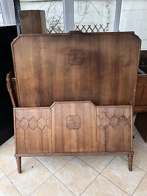 Antique French Bed - Small Double