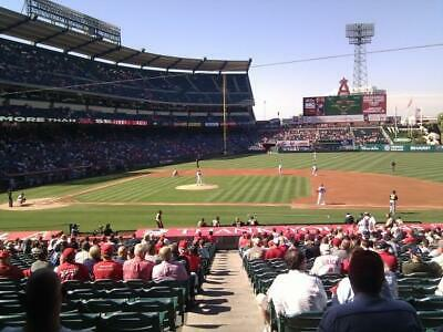 2 Tickets Houston Astros @ La Angels 9/27 *Terrace Mvp Front Row*