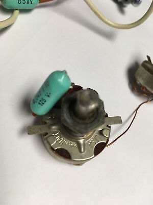 VINTAGE 1960's VOX BURNS BALDWIN ITALY HOLLOWBODY WIRING HARNESS POTS SWITCH