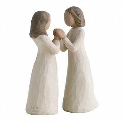 "New & Boxed Willow Tree Figurine ""Sisters by Heart"" 26023"