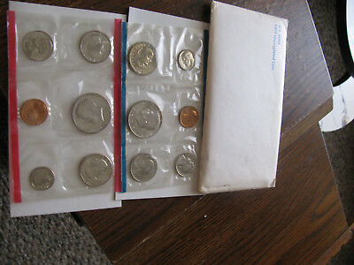 United States U.S. Mint 1979 Uncirculated Coin Set 12 Coins D & P