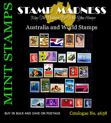 AUSTRALIA DECIMAL PREDECIMAL Mixed Collection of 25 Stamps MNH Bulk Estate Buy