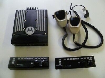 Motorola XTL5000 800 MHz DUAL REMOTE ASTRO Head Two Way Radio M20URS9PW1AN