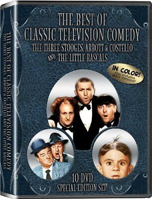 The Best of Classic Television Comedy (DVD, 2012, 10-Disc Set) BRAND NEW