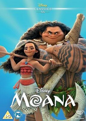 DISNEY: MOANA (DVD-2017, 1 Disc) Region 2. DISNEY'S 55TH ANIMATED CLASSIC******