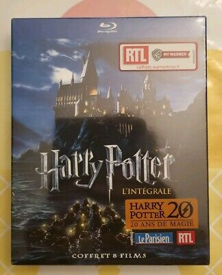 Harry Potter - The Complete 8 Film Movie Collection Blu-ray Set -Region Free NEW