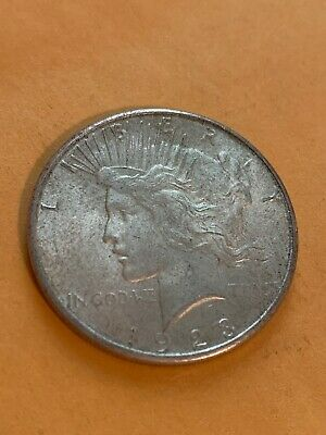 1923-S  Peace Dollar  Silver  VERY NICE