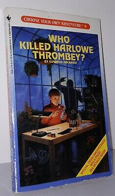 Choose Your Own Adventure #9 Who Killed Harlowe Thrombey? 1981 VINTAGE RARE NEW