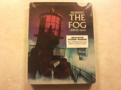 The Fog Scream Factory Limited Edition Blu-ray Steelbook Brand New