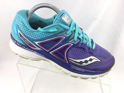 21f6221a Saucony TRIUMPH ISO 3 WIDE - S10347 1 Purple/ Blue Running Shoe Women's 9 W