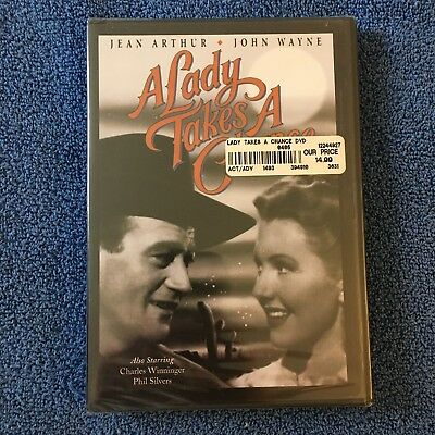a lady takes a chance dvd cover