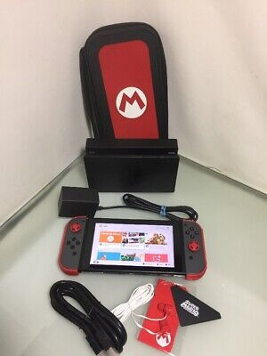 Nintendo Switch Console, Great Condition With Dock And Case