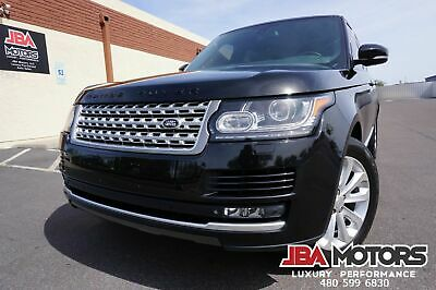 2014 Land Rover Range Rover 14 Range Rover HSE Supercharged 4WD Full Size SUV 2014 Black Land Rover Range Rover HSE Supercharged like 2011 2012 2013 2015 2016