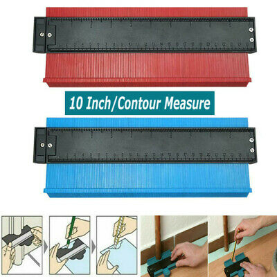 10'' Shape Contour Duplicator Profile Gauge Scale Tiling Laminate Tiles Edge #1