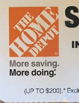 (1) 1x 10% OFF Home Depot Exp 4/15 ~ STORE ONLY Save up to $200 ~ Fast Shipment