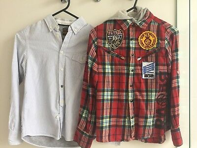 Rare/Raer The Kid Boys Long Sleeve Shirts. size 8. RRP$150+