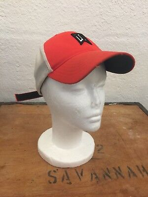 f1dc8122 Nike Tiger Woods Youth Collection Flex Fit Red Mesh Golf Hat, PGA, Baseball  Cap