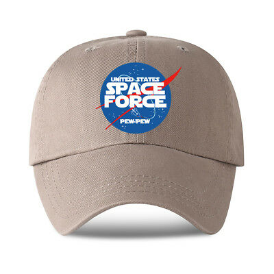 05259288ac7 Trump Space Force Hat United States Space Force Pew Pew America Baseball Cap  NEW