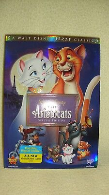 Walt Disney The Aristocats (DVD, 2008 Special Edition) Slipcover -Factory Sealed