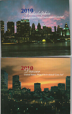 2010 U.S. Mint Uncirculated Coin Set. 28 Coin Set! Nice!