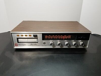 Vintage Olympic Stereo 8 Track Solid State Automatic Tape Player Model CT-810
