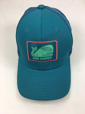 804d6bc8bb403 Patagonia LIVE SIMPLY WHALE Hat Kid s ALL Trucker Snapback Mesh Hat Cap