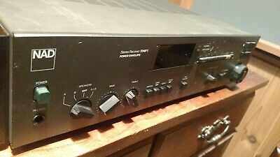 NAD AM FM STEREO RECEIVER 7240PE Power Envelope Vintage with Rack Mounts!