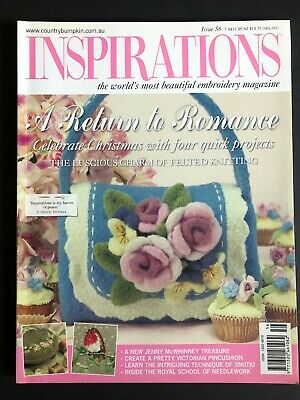 Inspirations Magazine Issue 56, 2007. Pattern sheets still attached.
