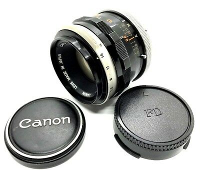 【 Exc +++++ 】 CANON FL 50mm f/1.8 Lens from Japan 8