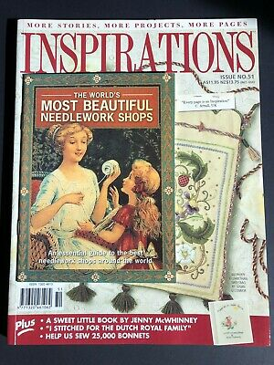 Inspirations Magazine Issue 51, 2006. Pattern sheets still attached plus booklet