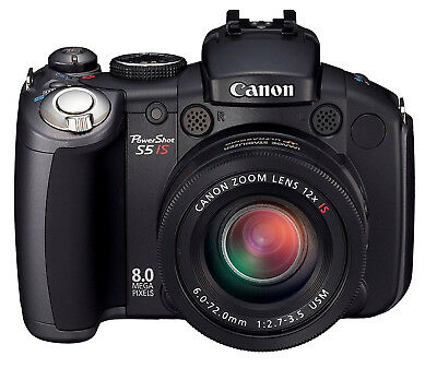 Canon PowerShot Pro Series S5 IS Digital Camera with 12x Optical Image Stabilize