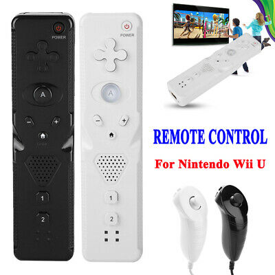 For Nintendo Wii U Controller Remote Nunchuck Motion Plus Game Console Gamepad