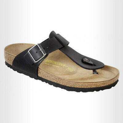 Birkenstock Medina Black Leather 0046361
